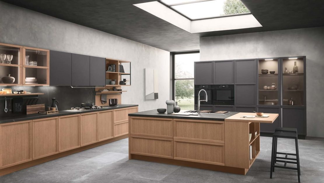 Virtuvės komplektas, Natural