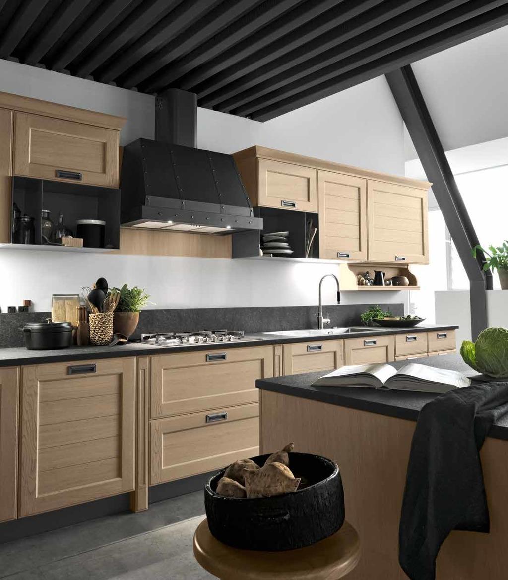 virtuves baldu gamyba YORK