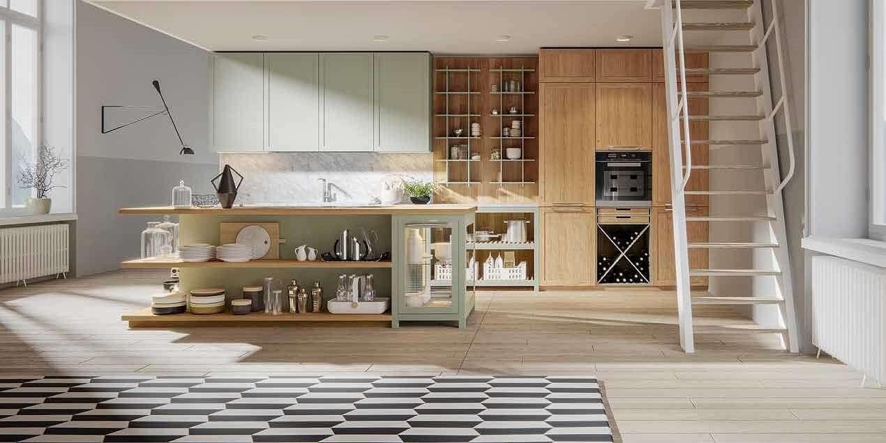 virtuves baldu gamyba NORDICO